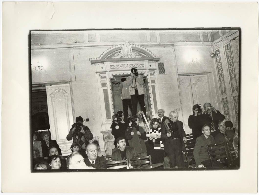 Вручення муніципальної премії в 2000 р.