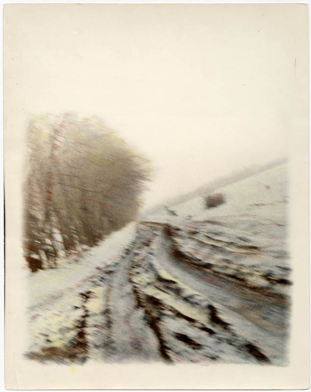 Зимова дорога навесні