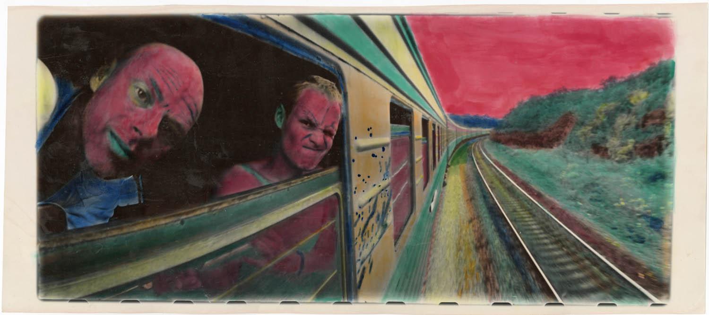 Подорож на потязі з Кременчука