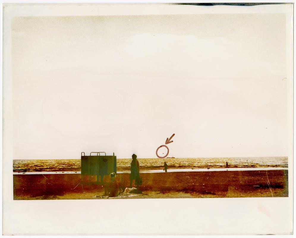 Морський пейзаж з прикордонним гелікоптером  (частина триптиху)